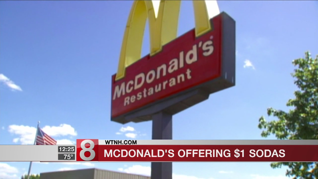 As McDonald's works on transforming, $1 sodas boost US sales