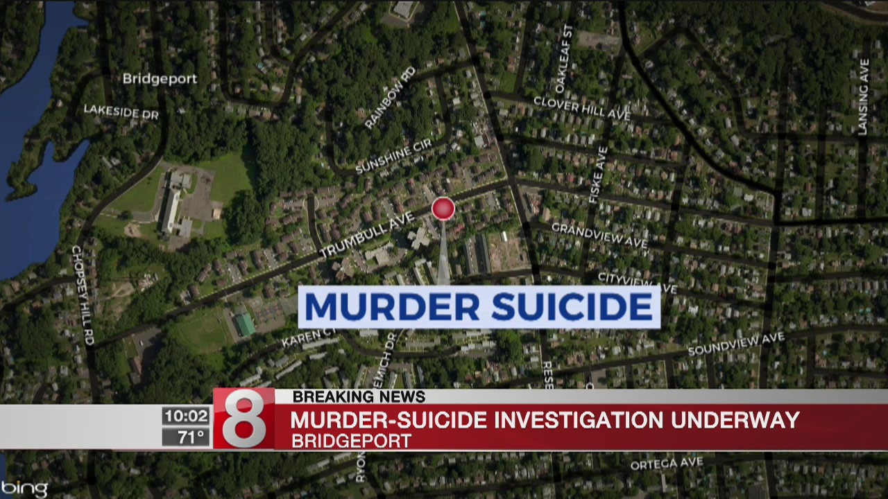 Two people dead after apparent murder-suicide in Bridgeport