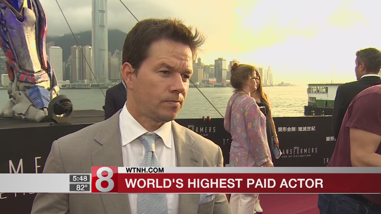 Mark Wahlberg tops Forbes list of highest-paid actors