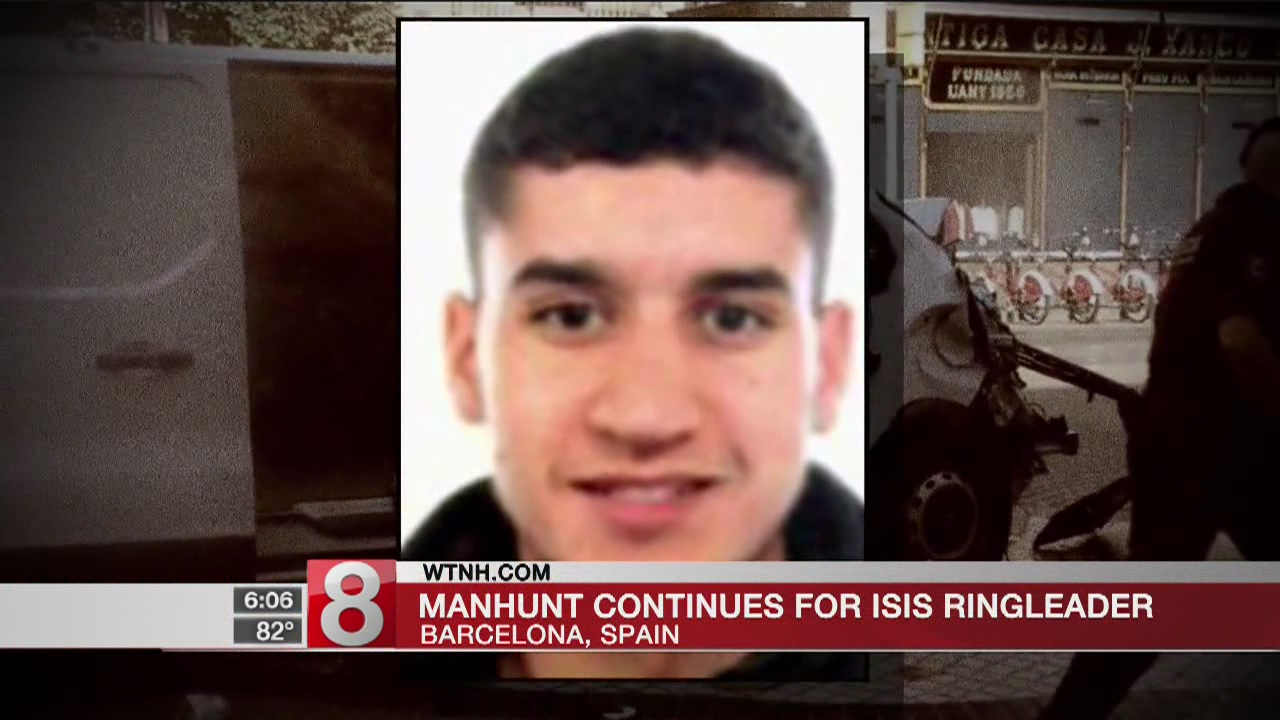 Police search for Spain van driver and missing Moroccan imam
