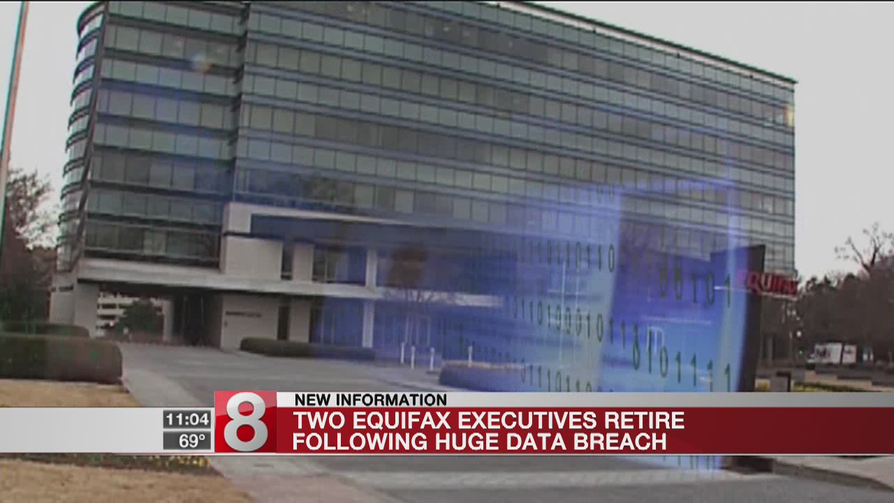 Key Equifax executives departing after huge data breach
