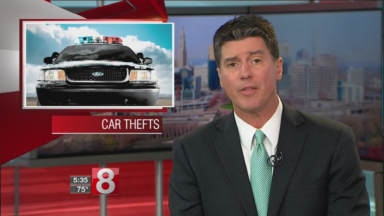 Two cars stolen in New Canaan
