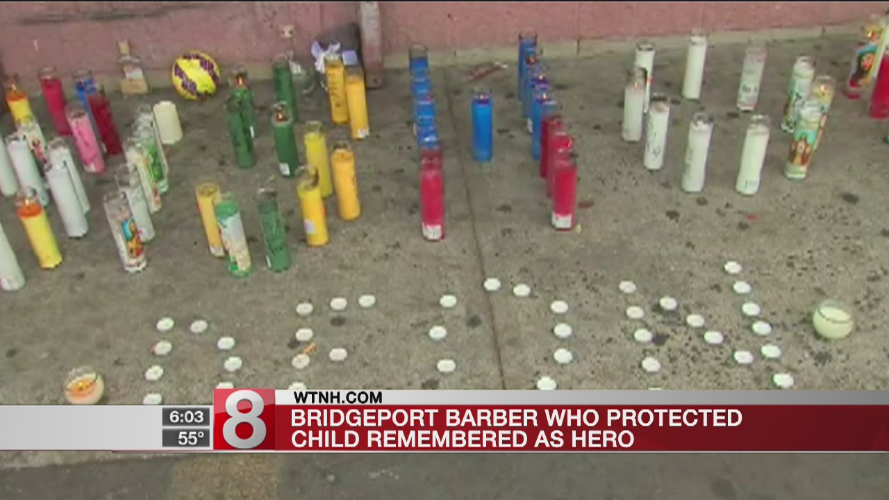 Slain barber called a hero for protecting little boy