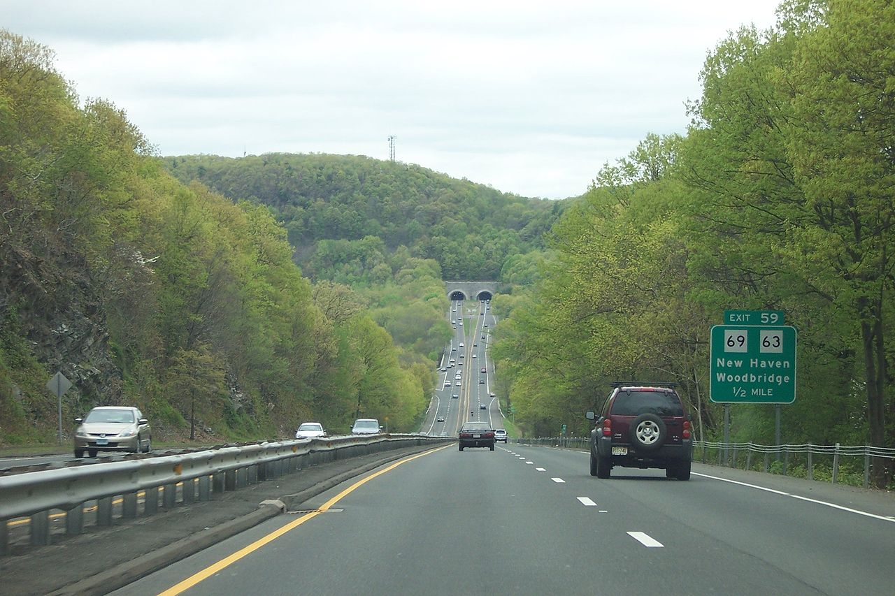 Motor vehicle accident causes delays on Merritt Parkway in