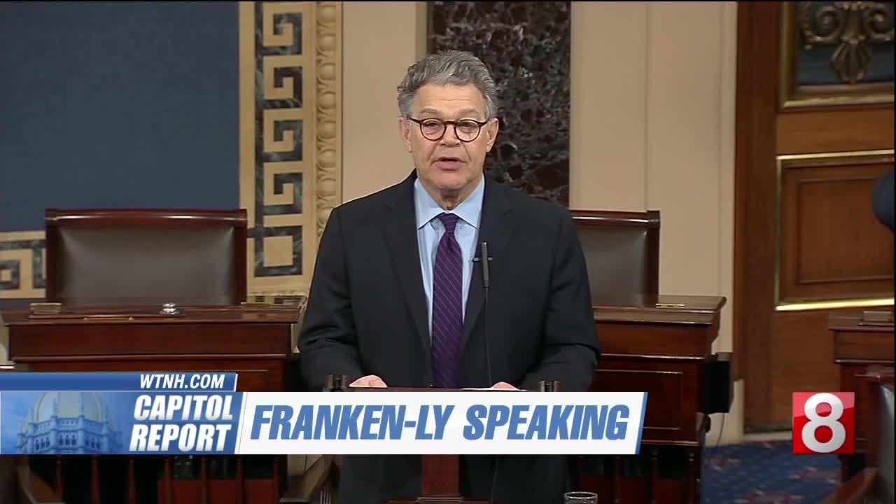 Capitol Report: Sen. Murphy responds to Sen. Franken's resignation