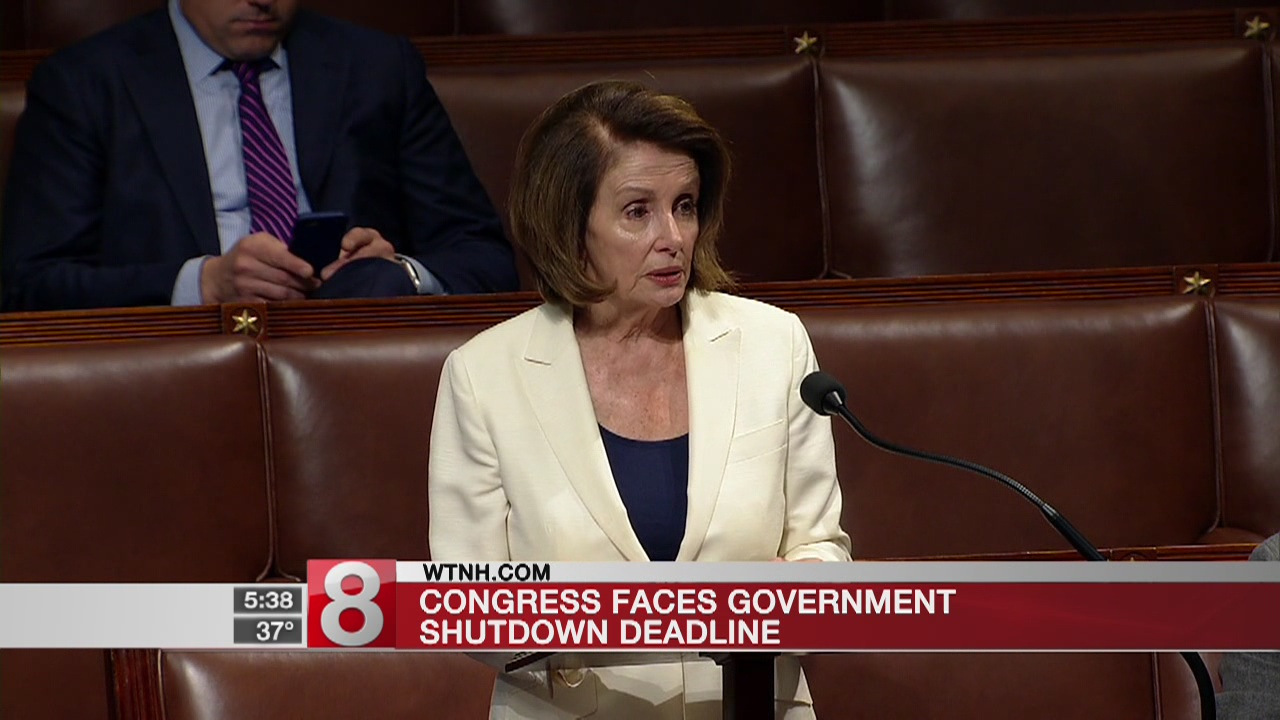 Congress faces government shutdown deadline