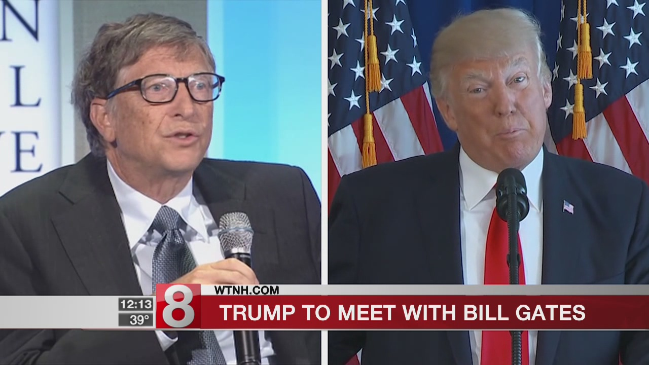 President Trump to meet with Bill Gates
