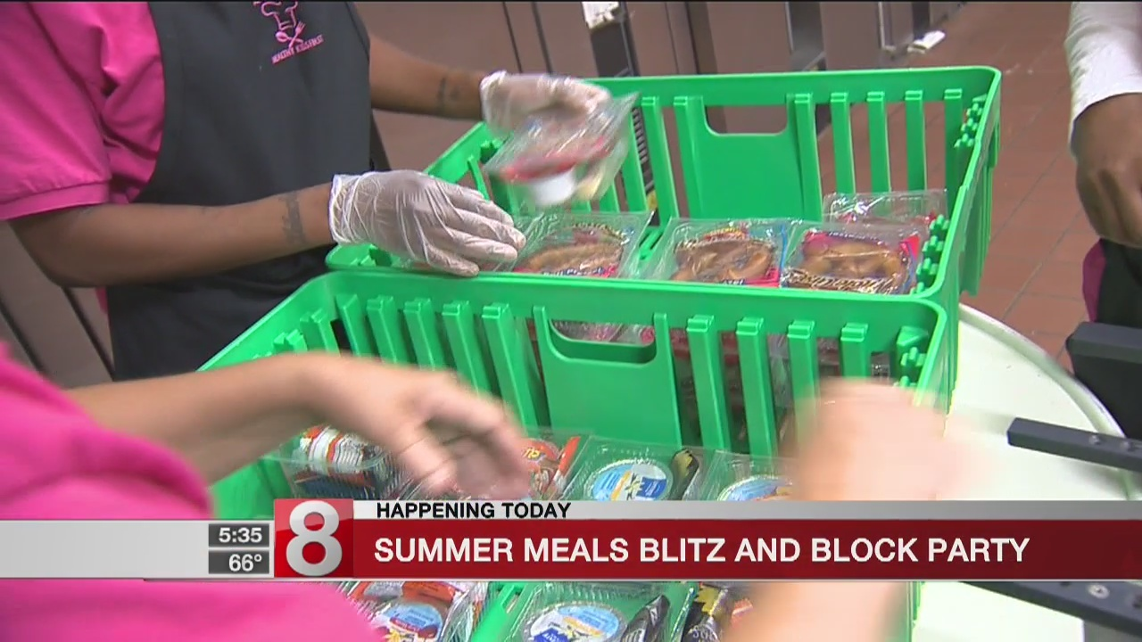 'Summer Meals Blitz and Block Party' to be held in New Britain
