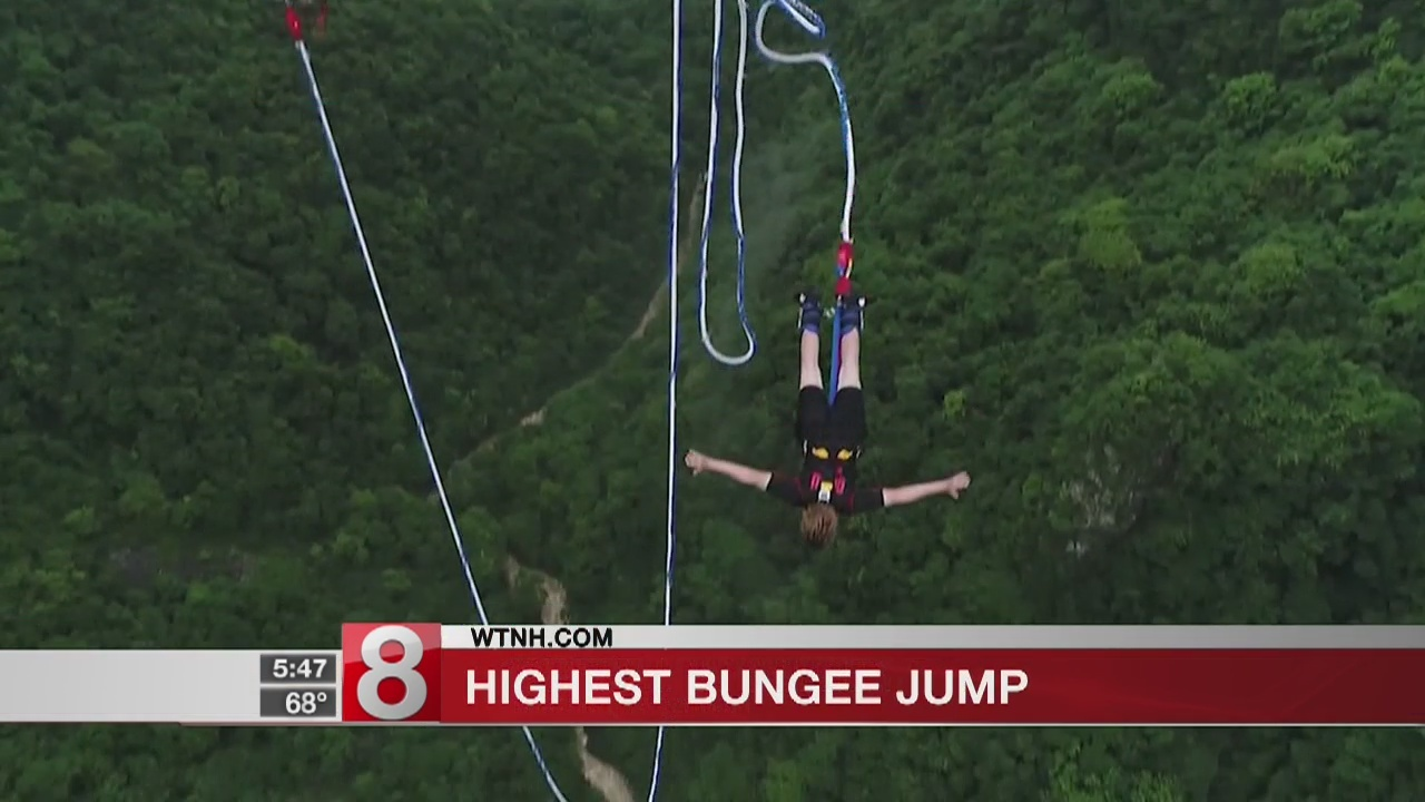 World's highest commercial bungee jump set to open next summer