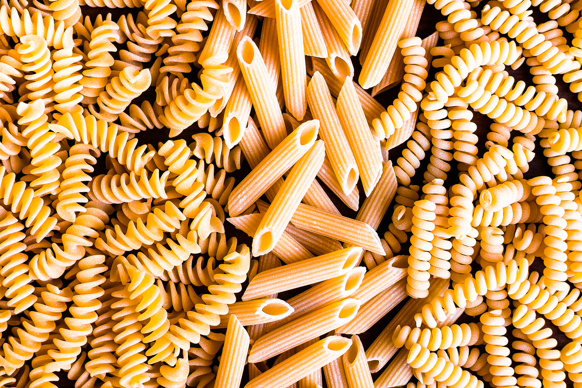 Pasta generic carbs