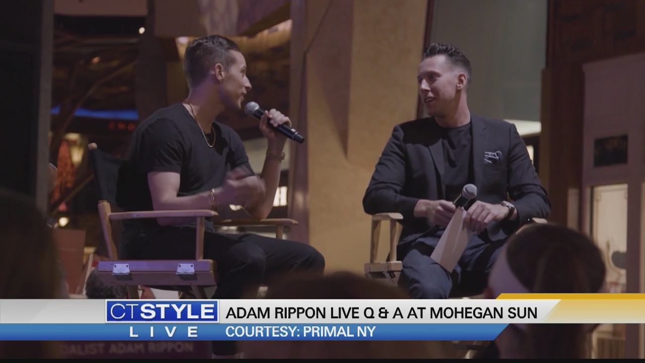 Today's Dish: Olympic Medalist Adam Rippon and Ryan Kristafer have Q & A session at Mohegan Sun