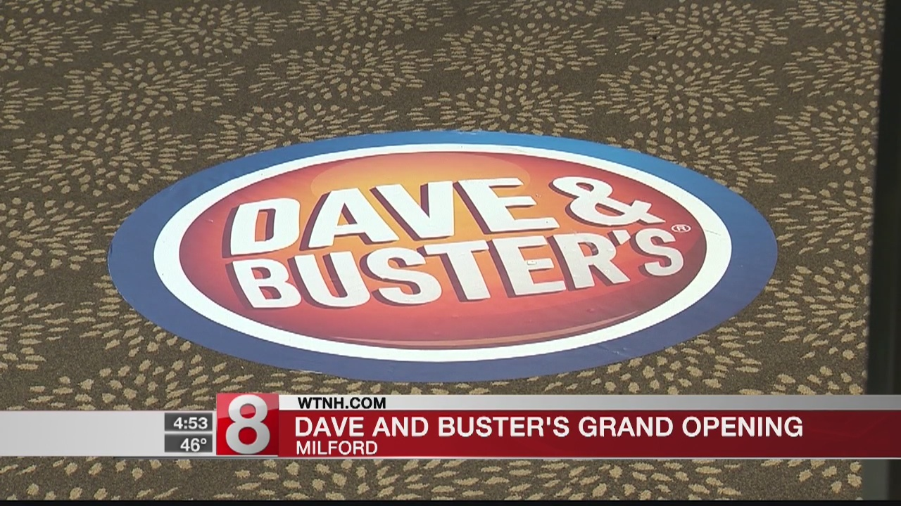 Dave and Buster's to open at Connecticut Post Mall on Monday