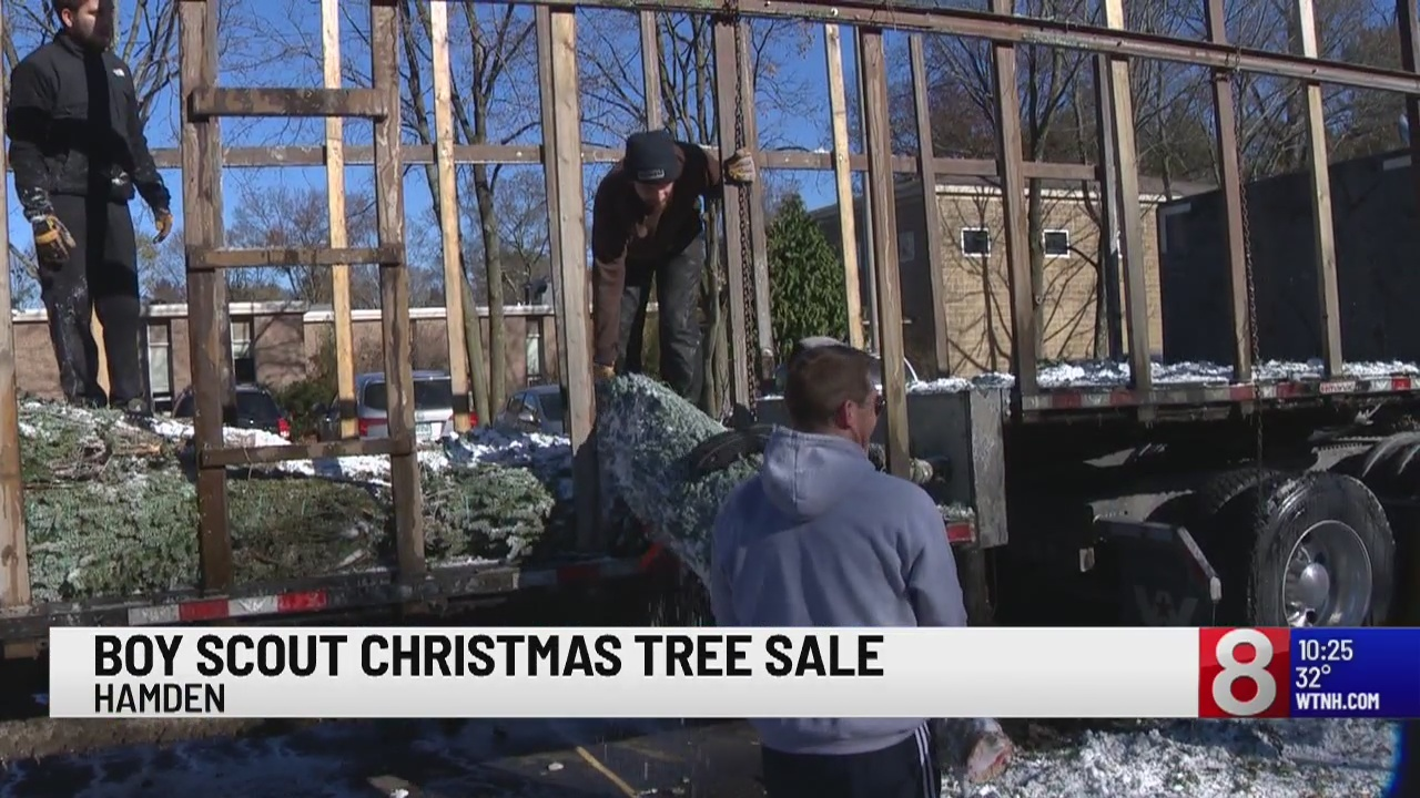 Hamden and North Haven Boy Scouts are ready for the holiday season