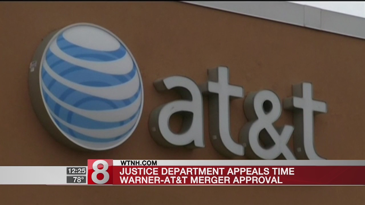 Trump DOJ appealing judge's OK of AT&T-Time Warner merger