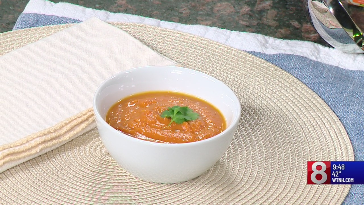 8 Minute Meal: Carrot and ginger soup (Part 2)