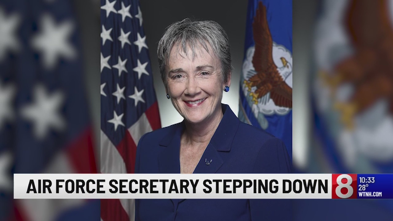 Air Force Secretary Heather Wilson leaving in May to become college president