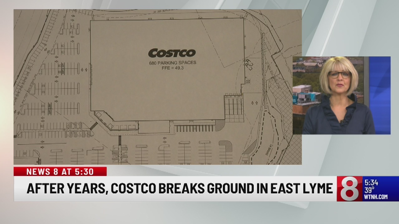 Anticipated East Lyme Costco store will contribute to town's taxes