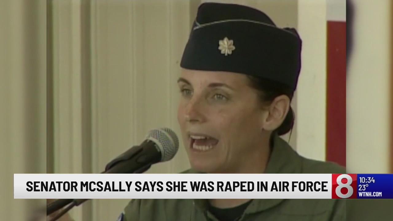 Sen. McSally, former Air Force pilot, says officer raped her