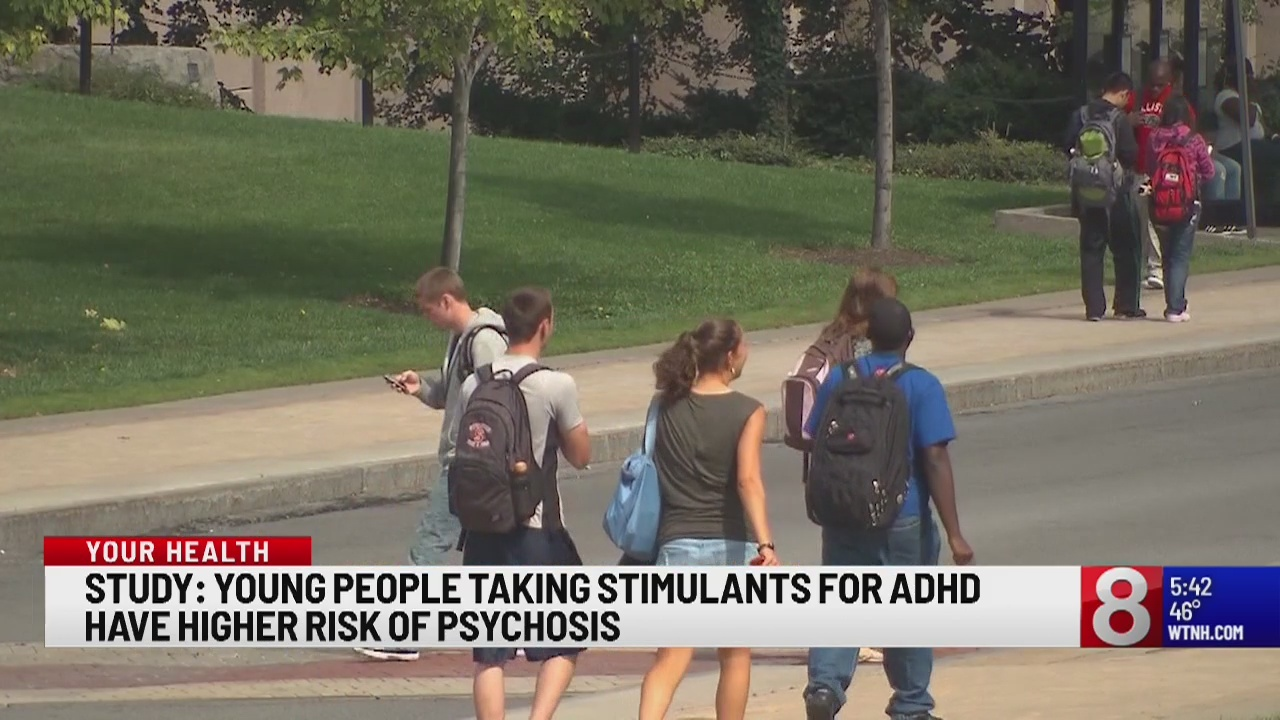 Study: Young people just starting ADHD medication may have higher psychosis risk