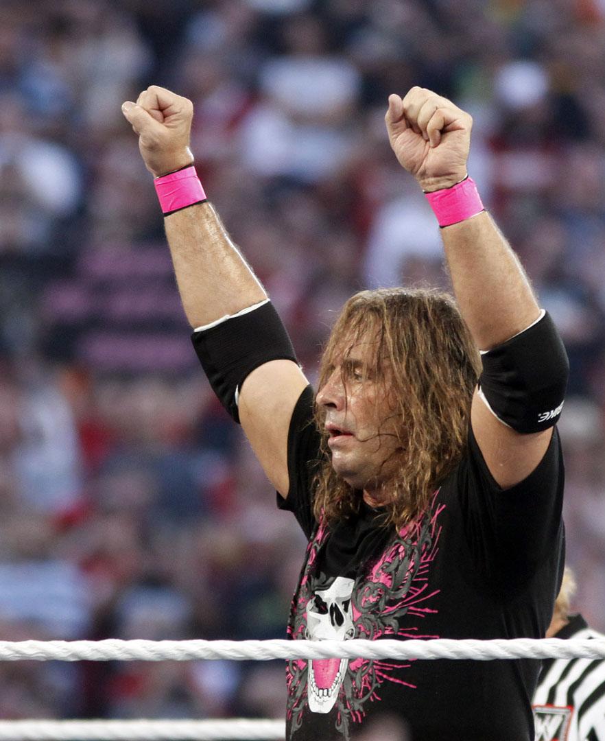 Bret Hart WWE Wrestling