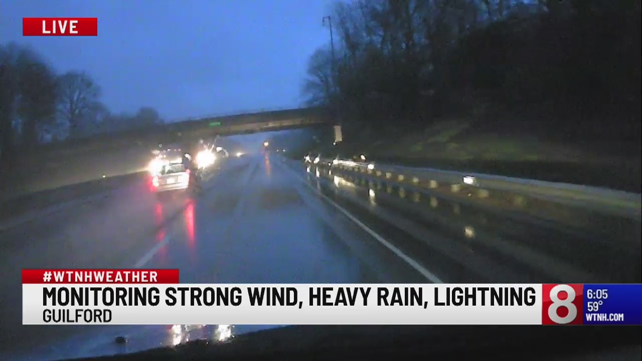Severe weather sweeps across state, making for difficult morning commute