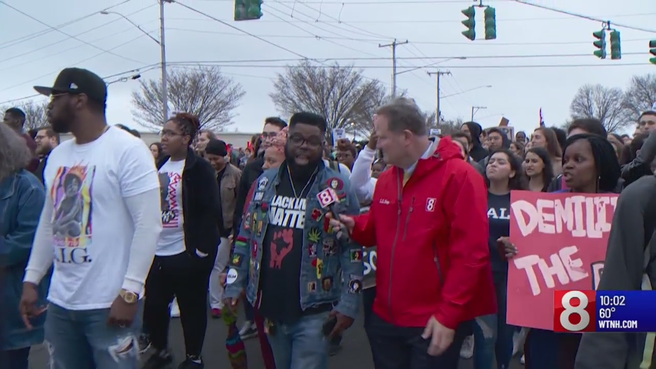 WATCH: Protests continue in response to officer-involved shooting