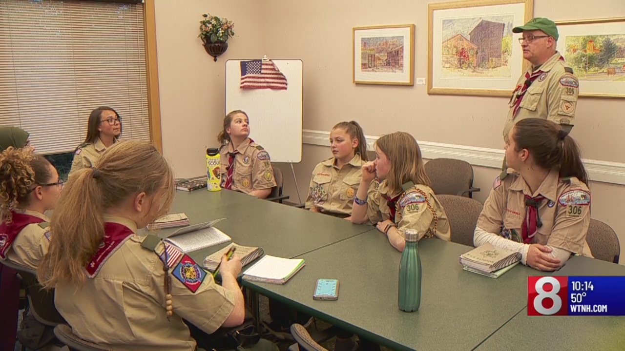 A look at one of the first all-female Scout troops in Connecticut