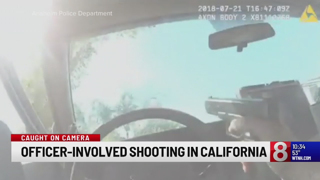 Body cam footage from fatal officer-involved shooting in California released