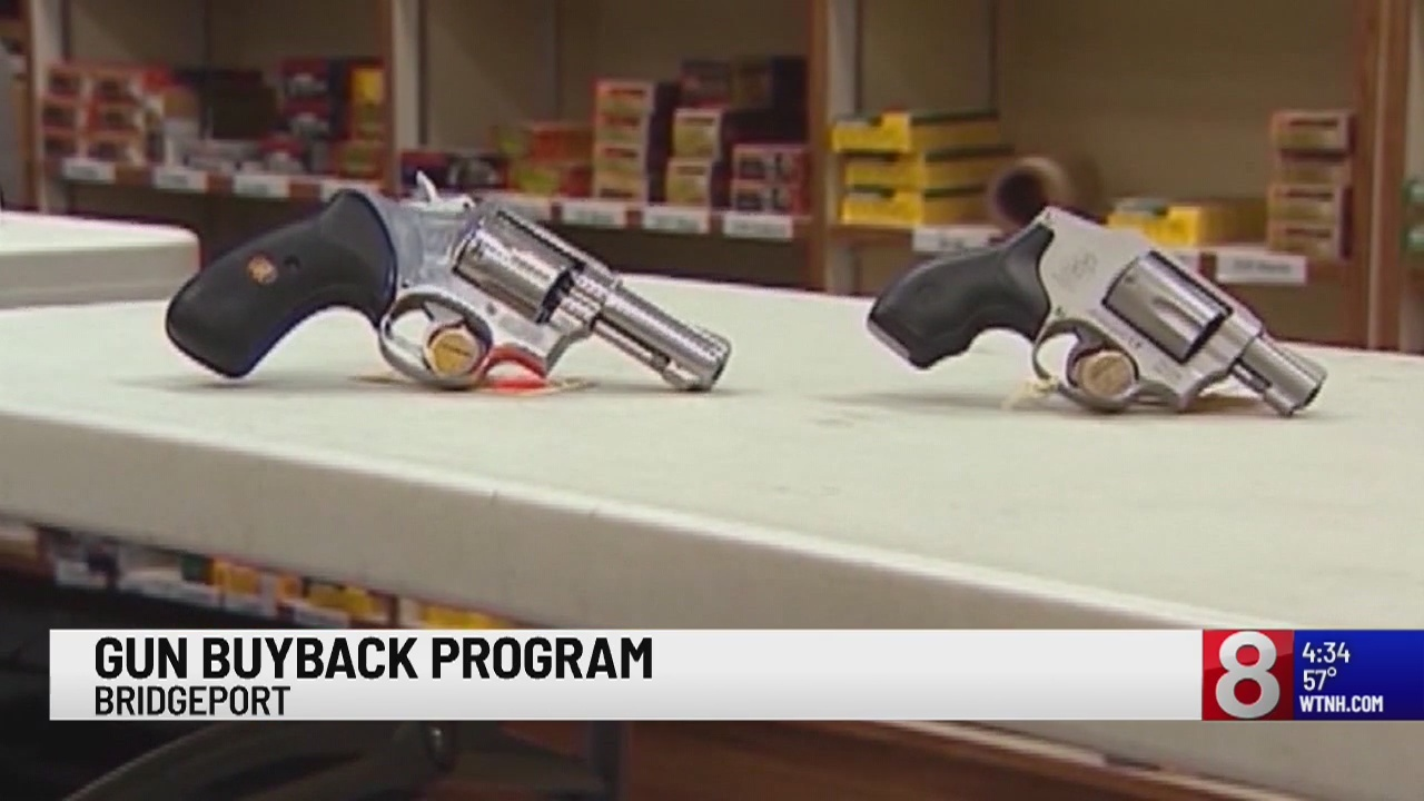 Bridgeport police will take in or buy your private firearm through gun buyback program