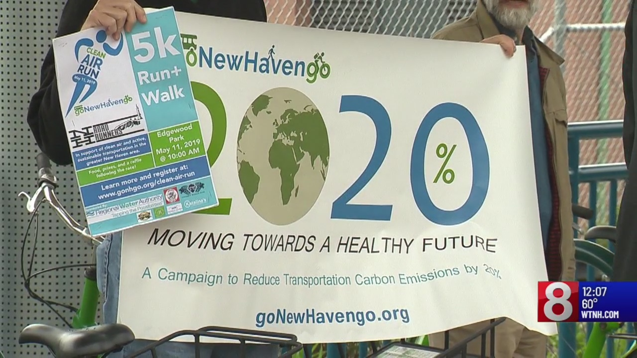 Eco-friendly transportation campaign kicks off in New Haven