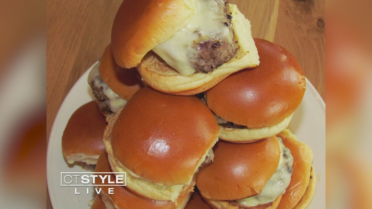 In The Kitchen: B Restaurants shows us how to make one of their popular burgers the Juicy Seuss-y