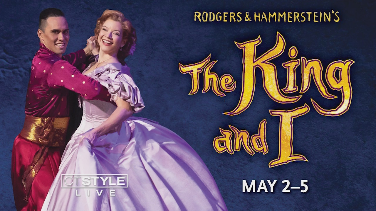 The King and I is now showing at the Shubert Theatre until Sunday, May 5th