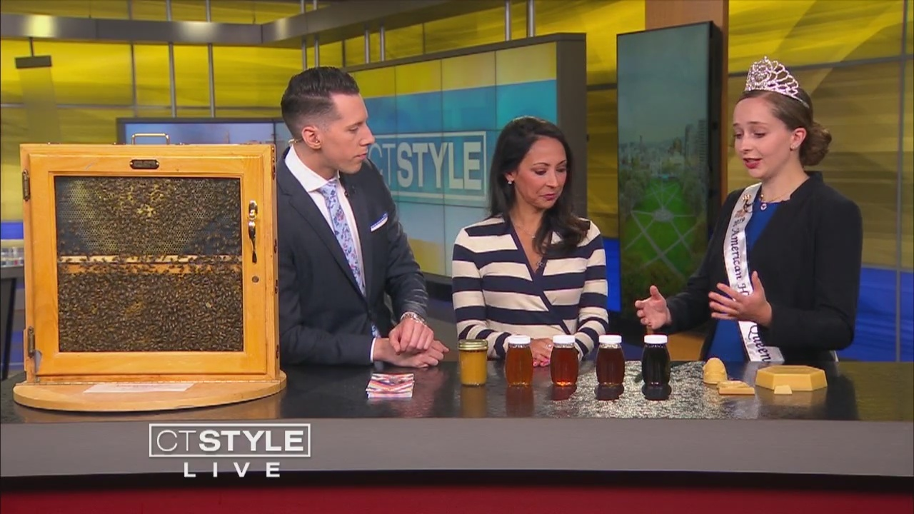 American Honey Queen discusses the status of honeybees throughout the country