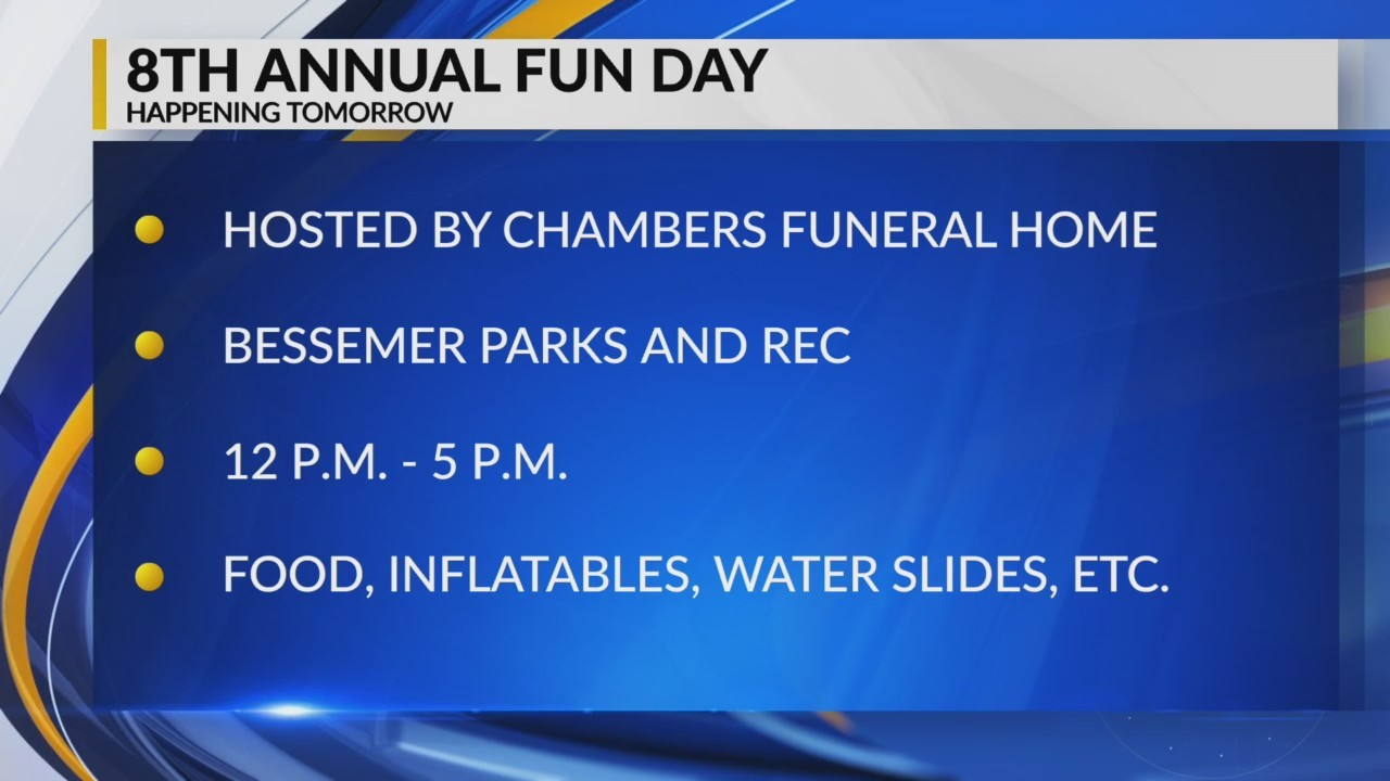 Chambers Funeral Home's Fun Day Preview