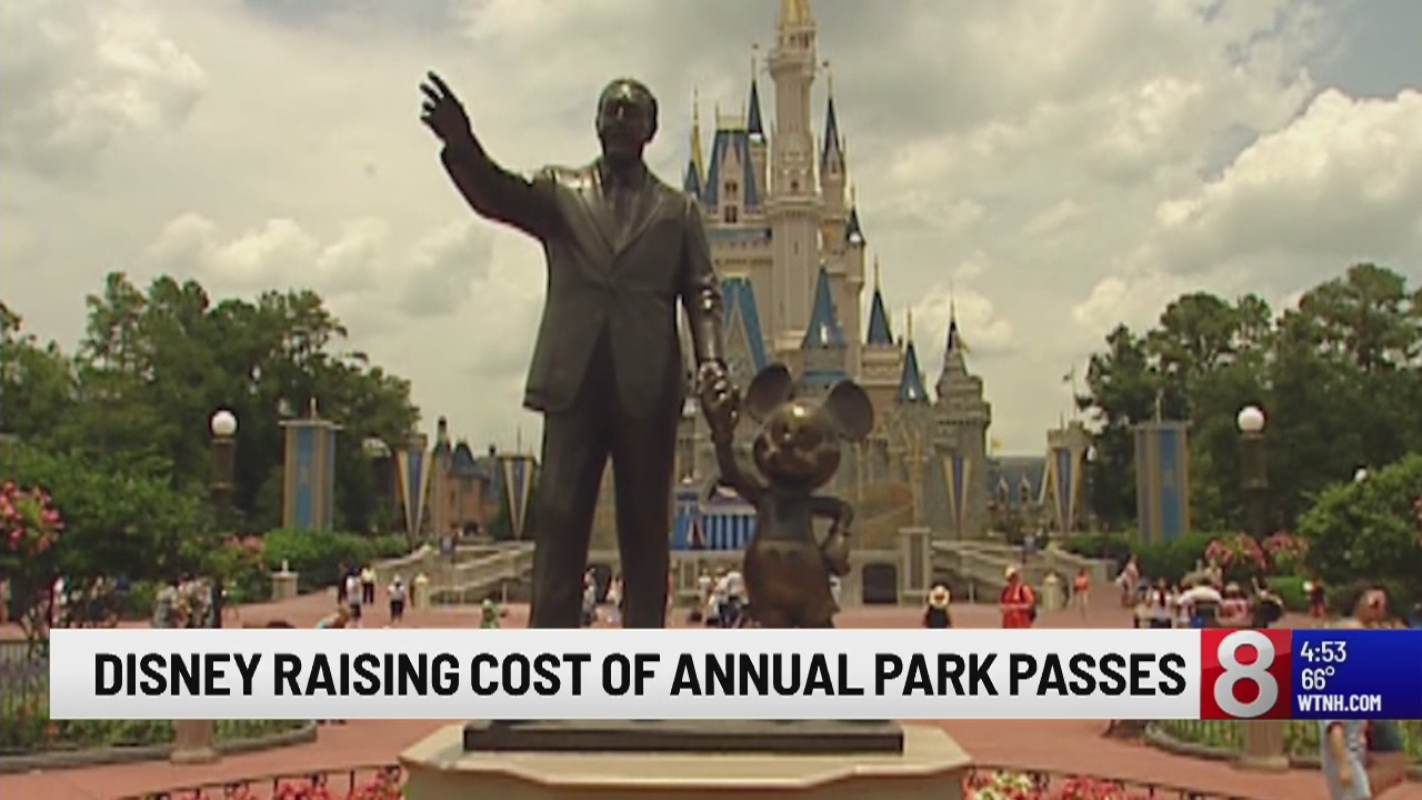Disney World raises prices on most annual passes