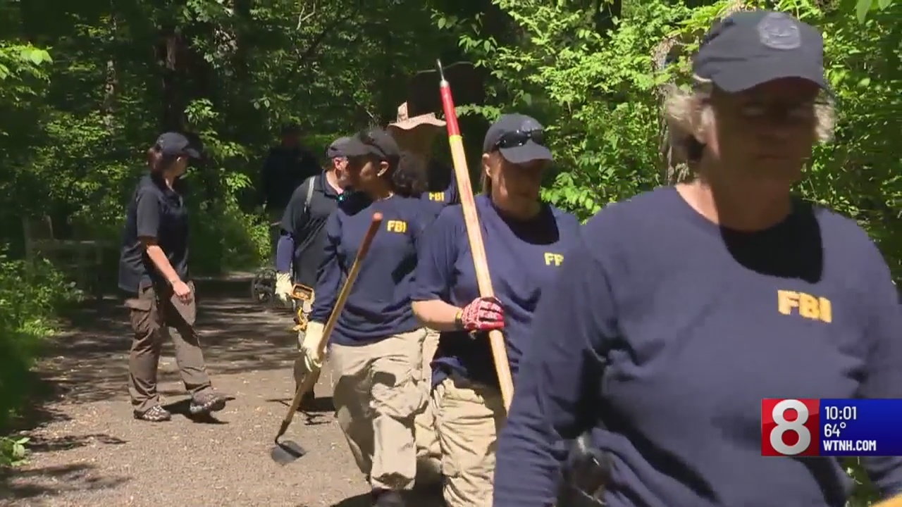 FBI digs at New Canaan park amid search for missing mother
