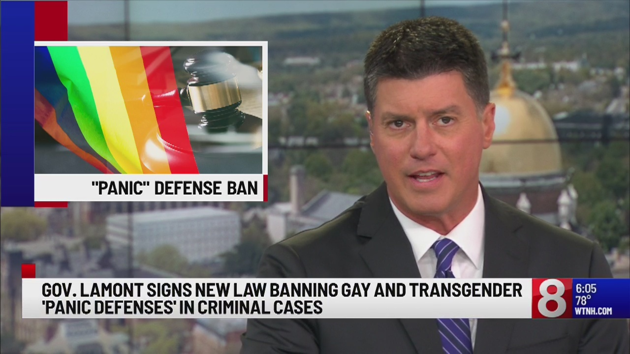 Gov. Lamont signs new law banning gay and transgender 'panic defenses' in criminal cases
