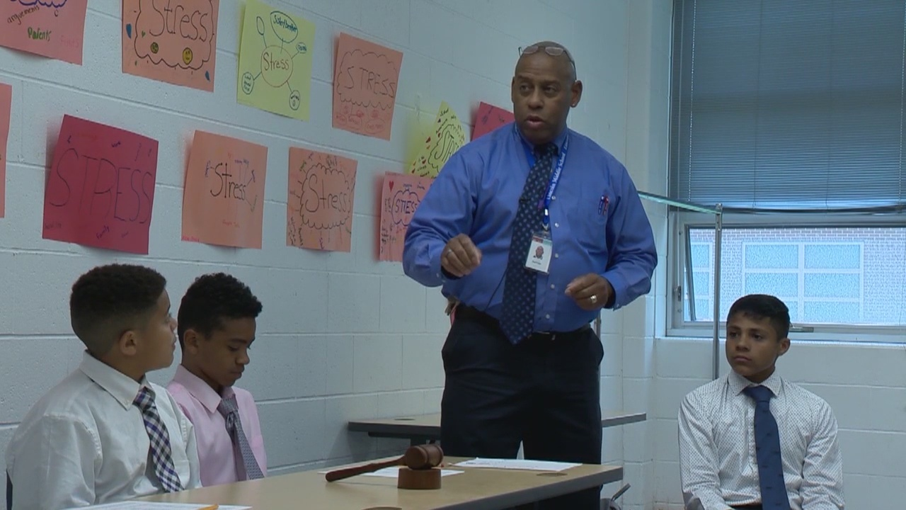 M.A.L.E.S. Club encourages Meriden middle schoolers to work hard, be honest & dress for success