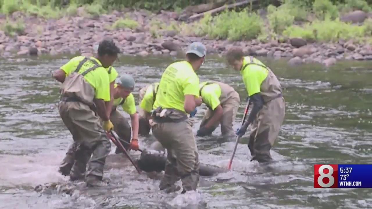 Naugatuck river cleanup kickoff