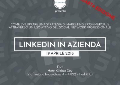 Linkedin in azienda – QUARTA EDIZIONE
