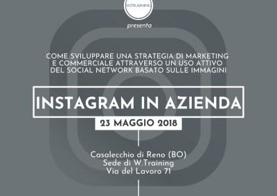 Instagram in azienda