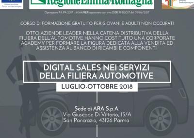 Digital sales nei servizi della filiera Automotive