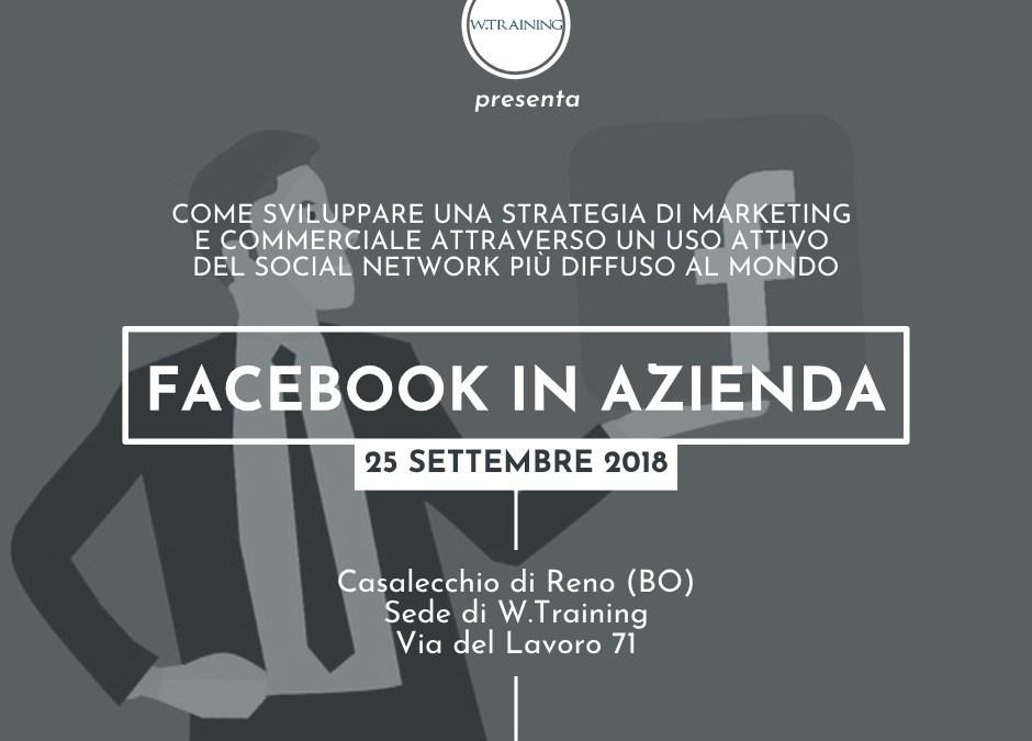 Facebook in azienda