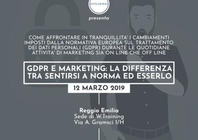 GDPR e Marketing: la differenza tra sentirsi a norma ed esserlo