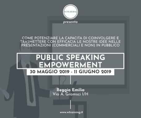 Public Speaking Empowerment