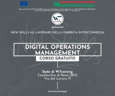 Digital Operations Management