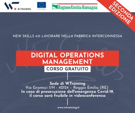 Digital Operations Management – SECONDA EDIZIONE