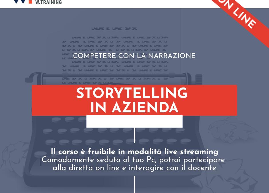 STORYTELLING IN AZIENDA