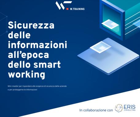 SICUREZZA DELLE INFORMAZIONI ALL'EPOCA DELLO SMART WORKING