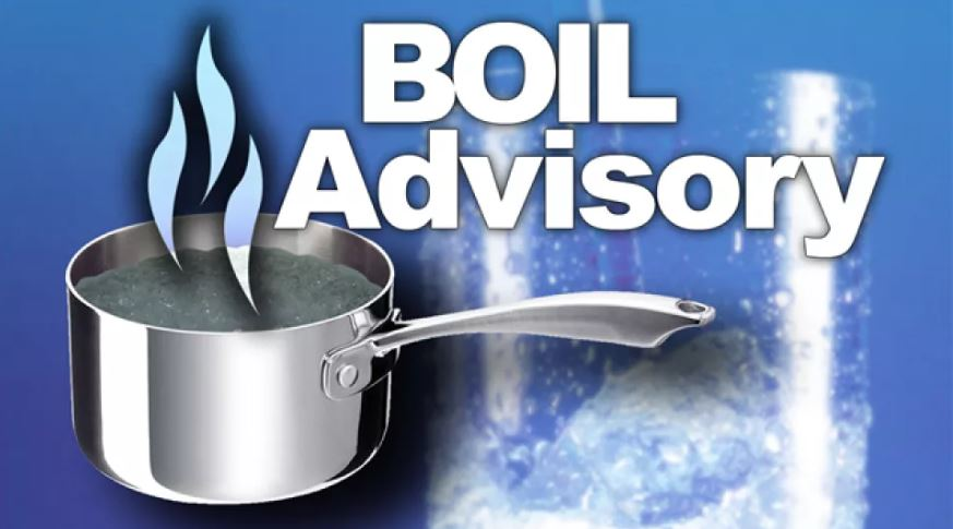 Boil order after valve replacement on GC and P Rd.
